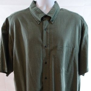 Timberland Weathergear Men's XXL Green S/S Shirt